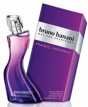 Bruno Banani Magic Woman 50ml edt test Bruno Banani Magic Woman 50 мл тестер, женская туалетная вода