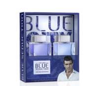 Antonio Banderas Blue Seduction set (100ml edt + 100 a/s)
