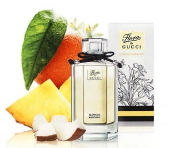 Gucci Flora by Gucci Glorious Mandarin 2ml edt Gucci FLORA Glorious Mandarine (L)  vial 2 ml edt