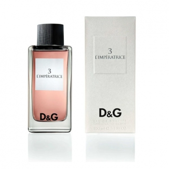 Dolce&Gabbana №3 L`Imperatrice 100ml edt Dolce&Gabana  №3 L`Imperatrice (L) 100 ml edt